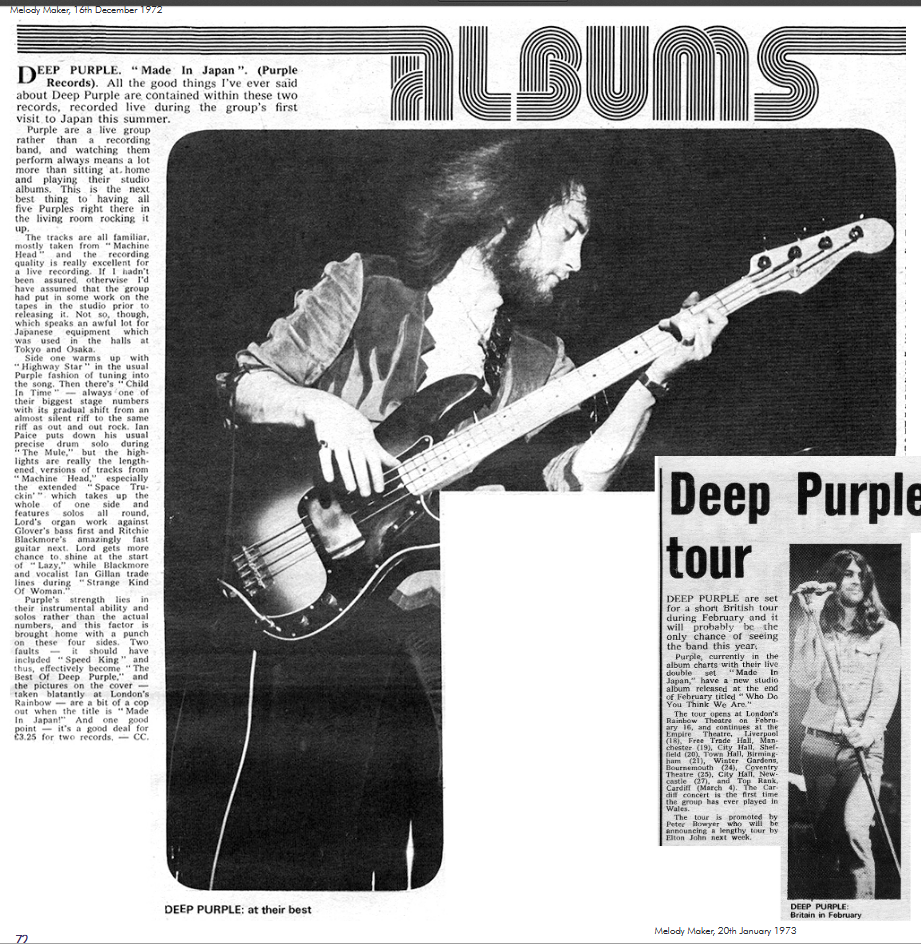 The Deep Purple Podcast – A fan podcast dedicated to the